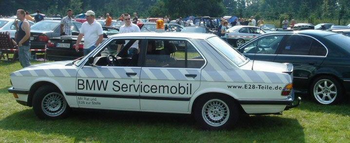 BMW 535i E28 'BMW-Servicemobil'